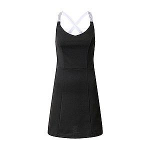 Calvin Klein Jeans Šaty 'Milano' biela / čierna vyobraziť