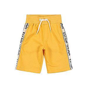 STACCATO Nohavice žlté / biela / čierna vyobraziť