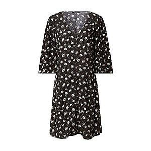 Trendyol Šaty čierna / biela / zelená vyobraziť