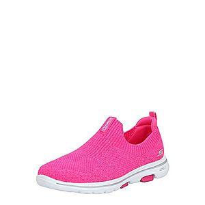 SKECHERS Nízke tenisky 'Go Walk 5-Trendy' ružová vyobraziť