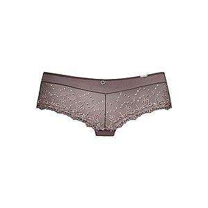 MARIE CLAIRE Nohavičky tmavobéžová / hnedá vyobraziť