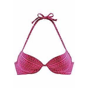 VENICE BEACH Bikinový top tmavoružová / ružová vyobraziť