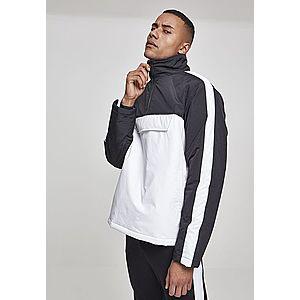 Urban Classics 2-Tone Padded Pull Over Jacket white/black - L vyobraziť
