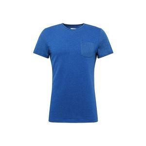 TOM TAILOR Tričko modrá / modrá melírovaná vyobraziť