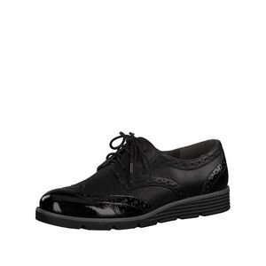s.Oliver Šnurovacie topánky čierna vyobraziť