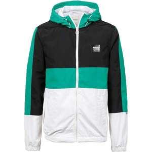 Iriedaily Prechodná bunda 'Prime' zelená / čierna / biela vyobraziť