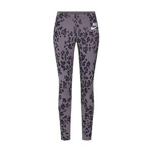 Nike Sportswear Legíny tmavosivá / čierna vyobraziť