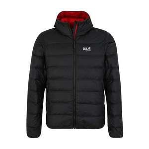 JACK WOLFSKIN Športová bunda 'Helium' červená / čierna vyobraziť