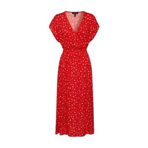 NEW LOOK Večerné šaty 'NELL ROSE MIDI' červená vyobraziť