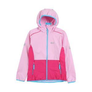 JACK WOLFSKIN Outdoorová bunda nebesky modrá / modrá / ružová vyobraziť
