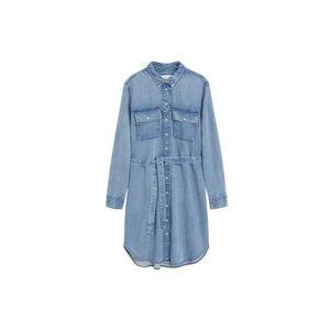 Kobaltovomodré dlhé šaty vyobraziť