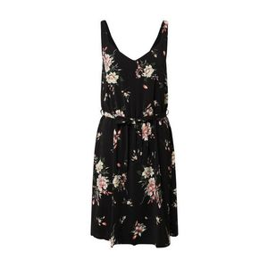 VILA Letné šaty čierna vyobraziť
