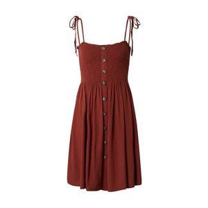 ONLY Letné šaty 'ANNIKA' bronzová vyobraziť