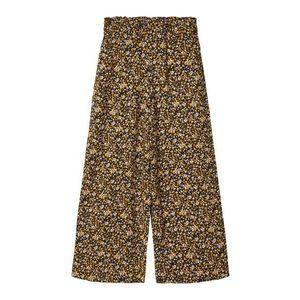 NAME IT Nohavice hnedá / žltá vyobraziť
