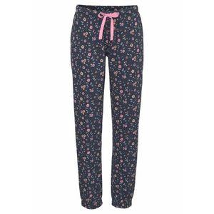 VIVANCE Pyžamové nohavice tmavomodrá / ružová / oranžová / mätová vyobraziť