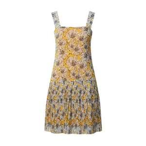 Trendyol Letné šaty žltá / svetlomodrá vyobraziť