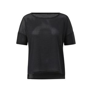 REEBOK Funkčné tričko čierna vyobraziť