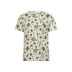 LEVI'S Tričko šedobiela vyobraziť