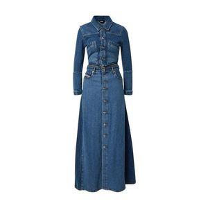 DIESEL Šaty modrá denim vyobraziť