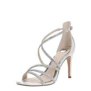 BUFFALO Remienkové sandále 'MAKAI' strieborná vyobraziť