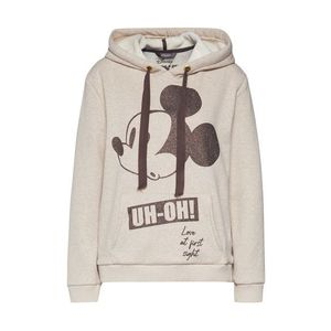 PRINCESS GOES HOLLYWOOD Mikina 'Disney Mickey Oh' čierna / béžová vyobraziť
