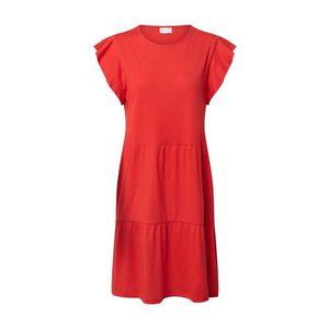 VILA Letné šaty 'SUMMER' červená vyobraziť