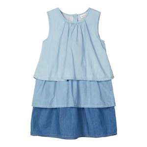 NAME IT Šaty modrá denim / pastelovo modrá vyobraziť