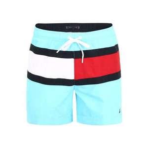 Tommy Hilfiger Underwear Plavecké šortky biela / červená / tyrkysová vyobraziť