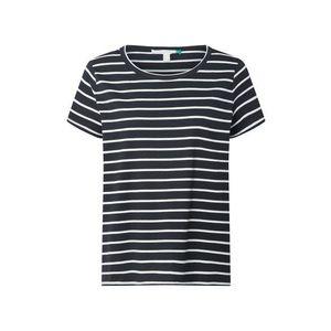 ESPRIT Tričko 'OCS Corporate' čierna / biela vyobraziť
