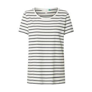 ESPRIT Tričko 'Corporate' námornícka modrá / biela vyobraziť