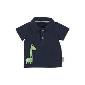 STERNTALER Tričko 'Giraffe' námornícka modrá / svetlozelená / biela / dymovo modrá vyobraziť