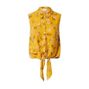 VILA Blúzka žlté vyobraziť