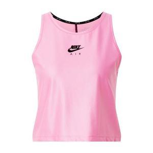 NIKE Športový top 'Air' čierna / ružová vyobraziť