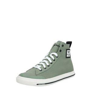 DIESEL Členkové tenisky 'Astico' pastelovo zelená / biela / čierna vyobraziť