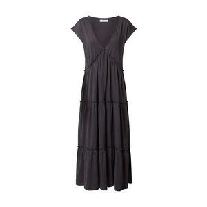 ONLY Letné šaty 'HELLA' tmavosivá vyobraziť