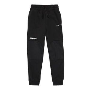Nike Sportswear Nohavice čierna / biela vyobraziť