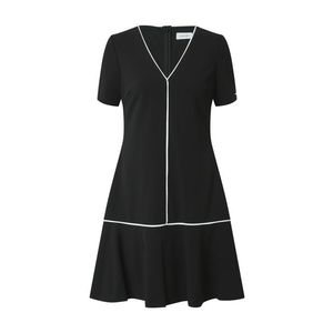 Calvin Klein Šaty čierna / biela vyobraziť