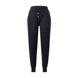 CALIDA Pyžamové nohavice tmavomodrá / ružová / biela vyobraziť
