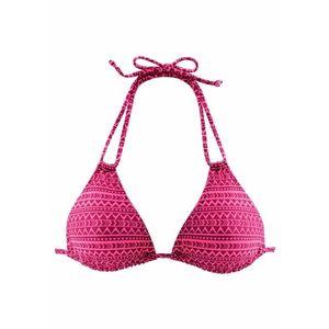 VENICE BEACH Bikinový top 'Spring' ružová vyobraziť