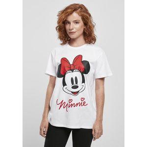 Mr. Tee Ladies Minnie Mouse Tee white - XS vyobraziť