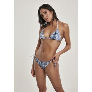 Urban Classics Ladies Animal Bikini snake - M vyobraziť