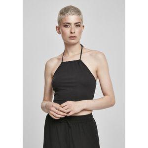 Urban Classics Ladies Cropped Neckholder Top 2-Pack black/white - S vyobraziť