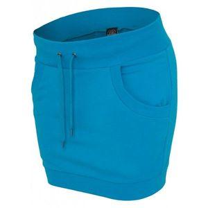 Urban Classics Ladies French Terry Skirt turquoise - M vyobraziť