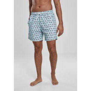 Urban Classics Melon Swim Shorts oceanblue - M vyobraziť