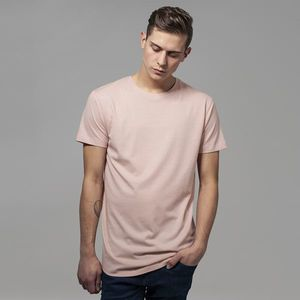 Pánske tričko Urban Classics Shaped Long Tee light rose - M vyobraziť