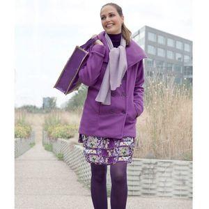Bunda dámska fialová vyobraziť