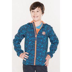 Detská softshellová bunda Sam 73 modrá svetlá 116-122 vyobraziť