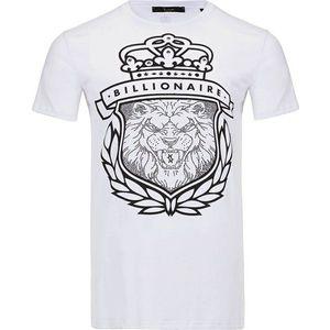 Billionaire pánske tričko Farba: Biela, Veľkosť: XS vyobraziť