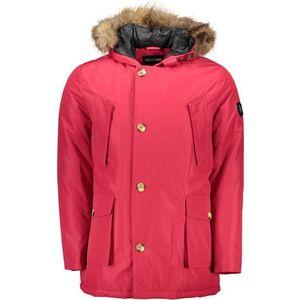 Roberto Cavalli pánska bunda Farba: červená, Veľkosť: 2XL vyobraziť