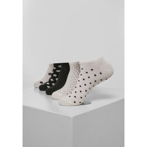 Urban Classics No Show Socks Dots 5-Pack white/black - 39–42 vyobraziť